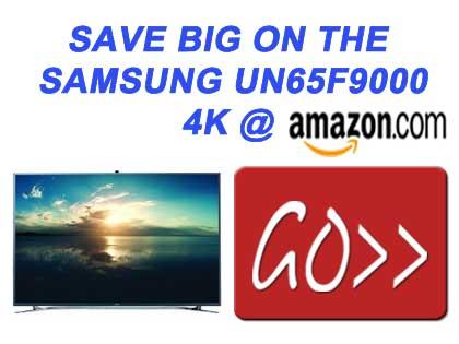 Samsung UN65F9000 65-Inch 4K Ultra HD 120Hz 3D Smart LED TV