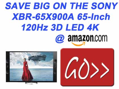 Sony XBR-65X900A 65-Inch 120Hz 3D LED 4K Ultra HD TV
